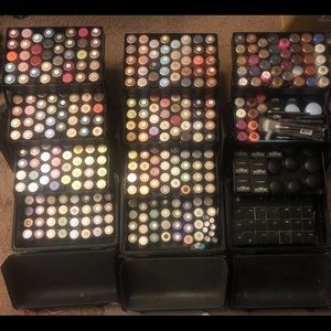 ISO Mac Pigments, Crystalled Glitters, Solar Bits